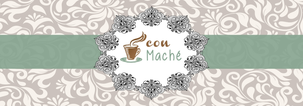 Logo Podcast Cafe con Mache
