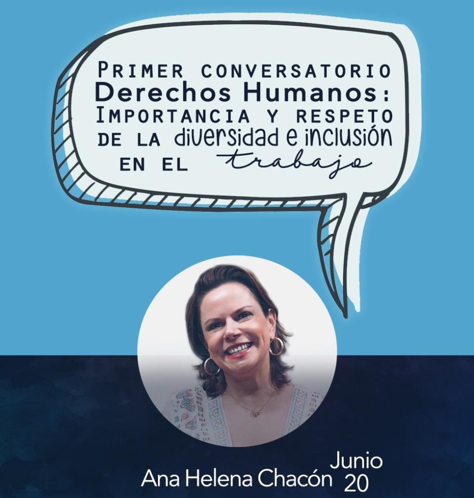 Diseño que hice para la charla con Ana Helena Chacón